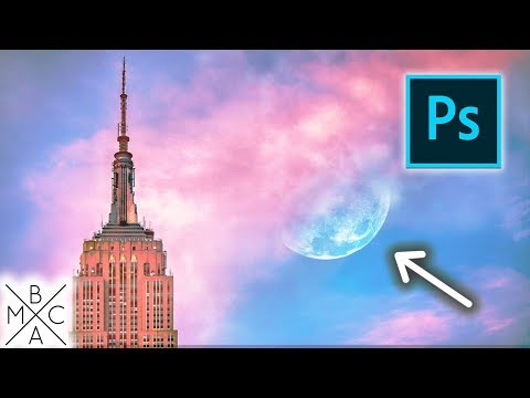 How To ADD A MOON TO ANY PHOTO! 🌙