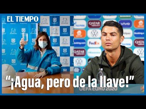 Gerente del Acueducto le hace version a video viral de Cristiano Ronaldo
