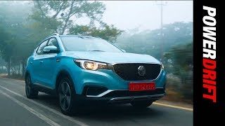 MG ZS EV First Drive | Into the future | Powerdrift
