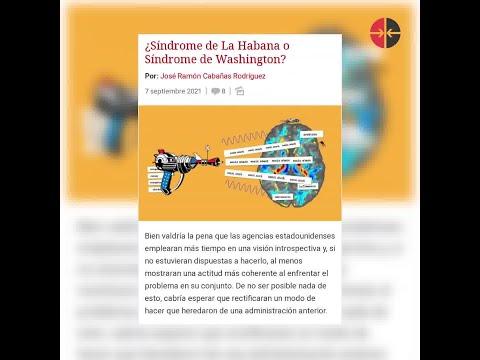 ¿Síndrome de La Habana Expertos científicos afirman que NO HAY evidencia de los ataques sónicos