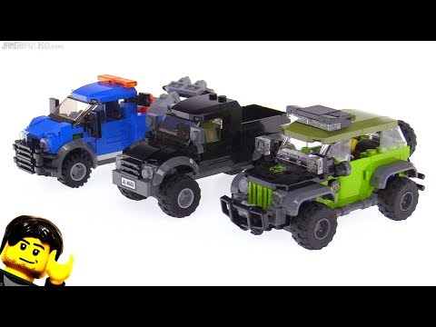 connectYoutube - Custom LEGO Jeep-style offroader + truck MOCs