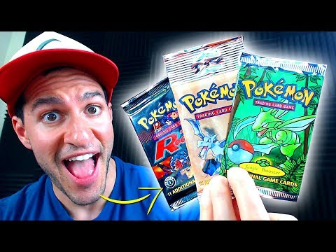 connectYoutube - I WAS SENT RARE VINTAGE POKEMON CARDS PACKS!!! (1st Edition?!)