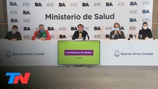 Coronavirus en CABA | Según el GCBA, la curva de casos en la Ciudad de Buenos Aires se