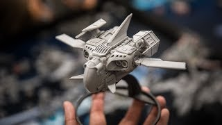 Kitbashing Model Spaceships with Snap Ships