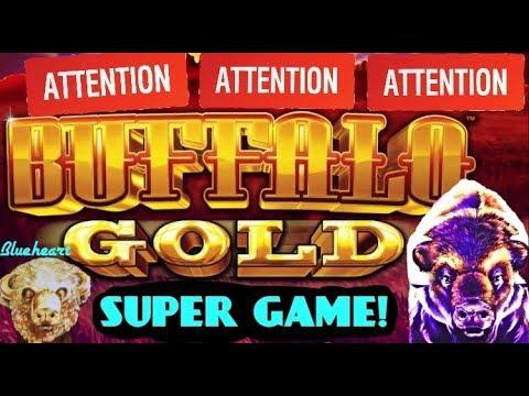 connectYoutube - ★GOT SUPER GAME AGAIN!★ BUFFALO GOLD slot machine  BONUS BIG WIN! (Wonder 4 Tall Fortunes)