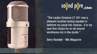Lauten Audio Oceanus LT-381 - Drum Overhead Demonstration and Review