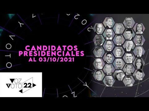 Candidatos Presidenciales Elecciones 2022 en Costa Rica