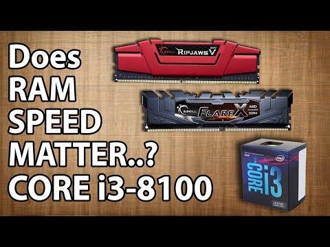 2133MHz Vs  2666MHz Vs  3200MHz RAM Test || intel Core i3
