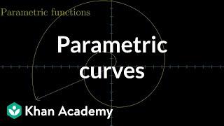 Parametric curves | Multivariable calculus | Khan Academy