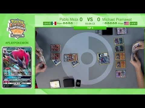 connectYoutube - 2017 Pokémon Memphis Regional Championships: TCG Masters Top 4