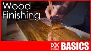 Wood Finishing Made Easy | WOODWORKING BASICS