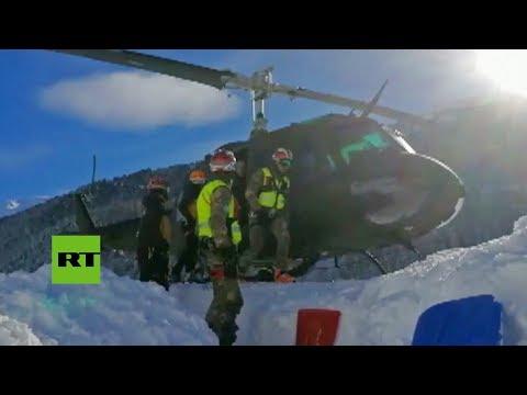 connectYoutube - Evacuan un hotel italiano por una avalancha