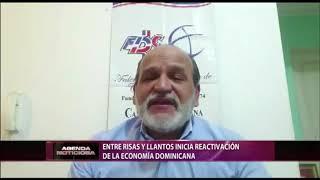 Entre risas y llantos inicia reactivación de la economía dominicana