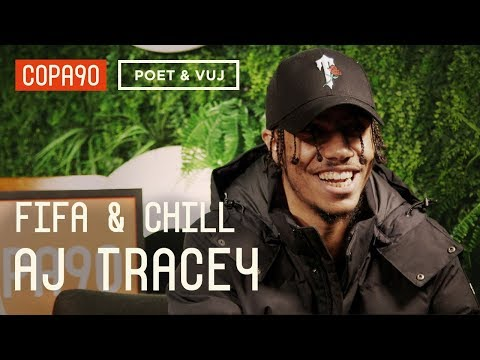 Spurs, Giggs & Grime | AJ Tracey FIFA and Chill ft. Poet & Vuj