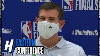 Brad Stevens Postgame Interview - Game 3 | Celtics vs Heat | September 19, 2020 NBA Playoffs