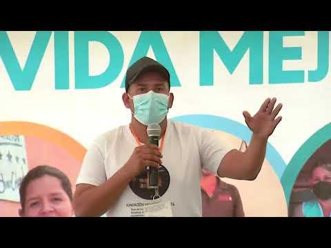 Gobierno entrega viviendas a los pobladores de la Montañuela