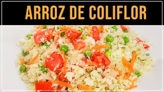 Arroz de Coliflor (Saludable)