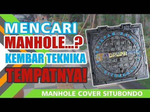 Manhole Cover Heavy Duty | PEMKAB Situbondo