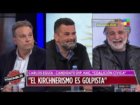 Carlos Eguía, candidato a diputado nacional por Neuquén: El kirchnerismo es golpista