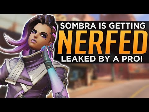 connectYoutube - Overwatch: Sombra NERF Is Coming! - Leaked By Pro Player