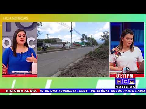 Alcalde de Siguatepeque asegura que el bulevar Francisco Morazán estará listo en 2 meses