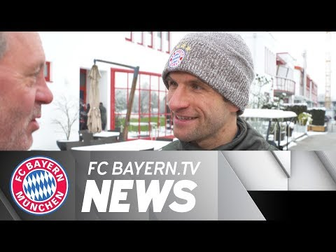 Bayern primed for Besiktas - Thomas Müller: We can't wait