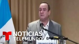Alejandro Giammattei se convierte en el nuevo presidente de Guatemala   Noticias Telemundo