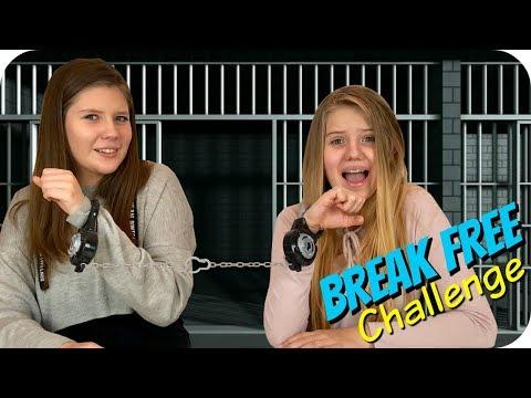 connectYoutube - BREAK FREE CHALLENGE    FUN SPY KIDS GAMES    Taylor and Vanessa