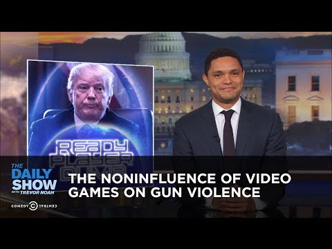 connectYoutube - The Noninfluence of Video Games on Gun Violence | The Daily Show