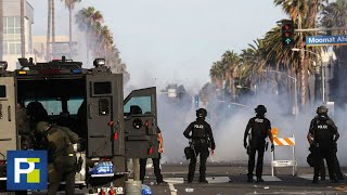 Una reportera de Primer Impacto fue alcanzada por una bala de goma durante protestas en Los Ángeles