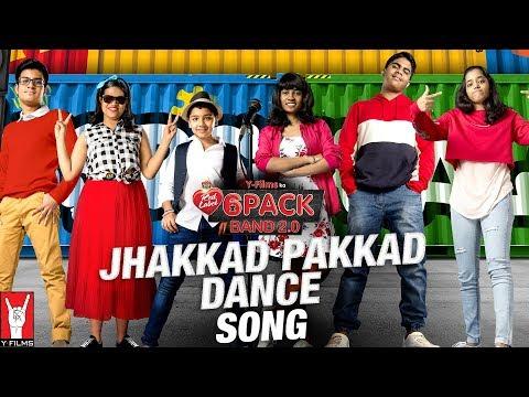 Jhakkad Pakkad Dance Lyrics - 6 Pack Band 2.0 | Feat. Karan Johar