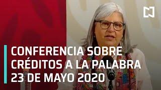 Conferencia Sobre Créditos a la Palabra para Reactivar la Economía - 23 mayo 2020