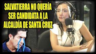 """Adriana Salvatierra confiesa que """"No quería ser candidata a la alcaldía de Santa Cruz"""""""