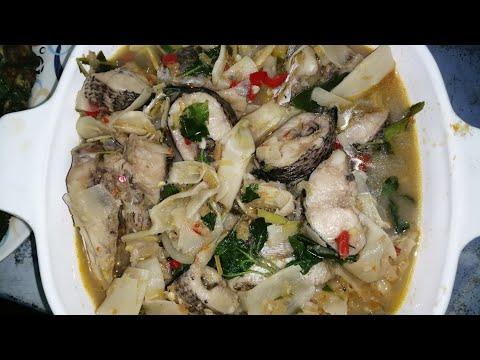 แกงปลาค่อปลาช่อนใส่หน่อไม้ดองป