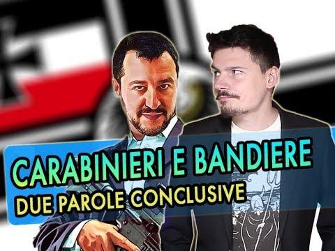 """Carabinieri e bandiere """"identitarie"""", due parole conclusive"""