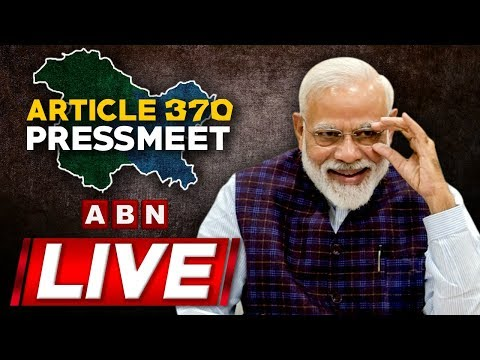 PM Modi LIVE | Address Nation on Article 370 Move | ABN LIVE