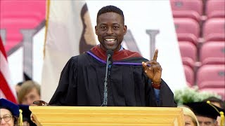 Stanford 2018 Commencement Highlights: Sterling K. Brown