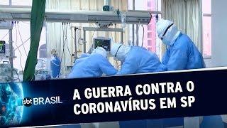 São Paulo registra 324 mortes pela Covid-19 em 24 horas | SBT Brasil (19/05/20)