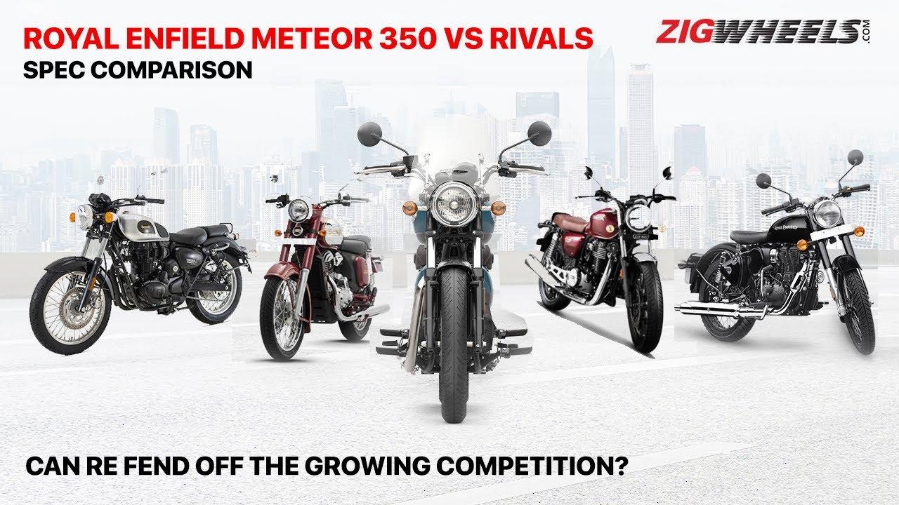 RE Meteor 350 Vs Honda CB350 Vs RE Classic 350 Vs Jawa Vs Imperiale 400 | Spec Comparo