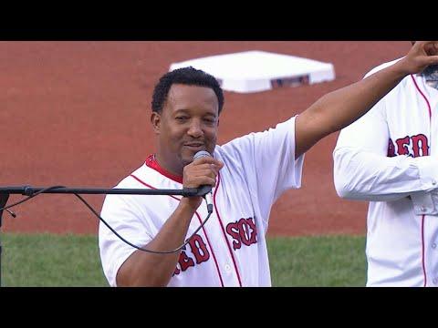 LAA@BOS: Pedro talks Ortiz as Boston's greatest gift