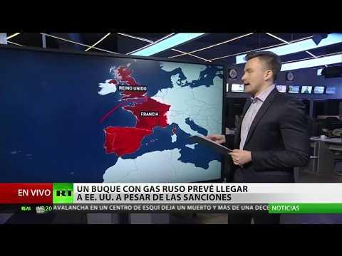 connectYoutube - Un buque con gas ruso llegará a EE.UU. a pesar de las sanciones
