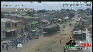 Se realizó cuarto simulacro nacional de tsunami