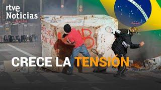 Más TENSIÓN y más CONTAGIADOS en BRASIL.