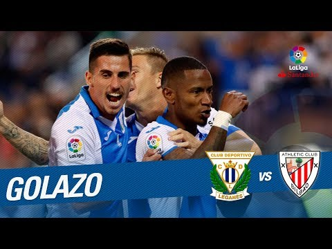 Golazo de Beauvue (1-0) CD Leganés vs Athletic Club