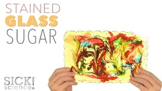 Stained Glass Sugar - Sick Science! #218