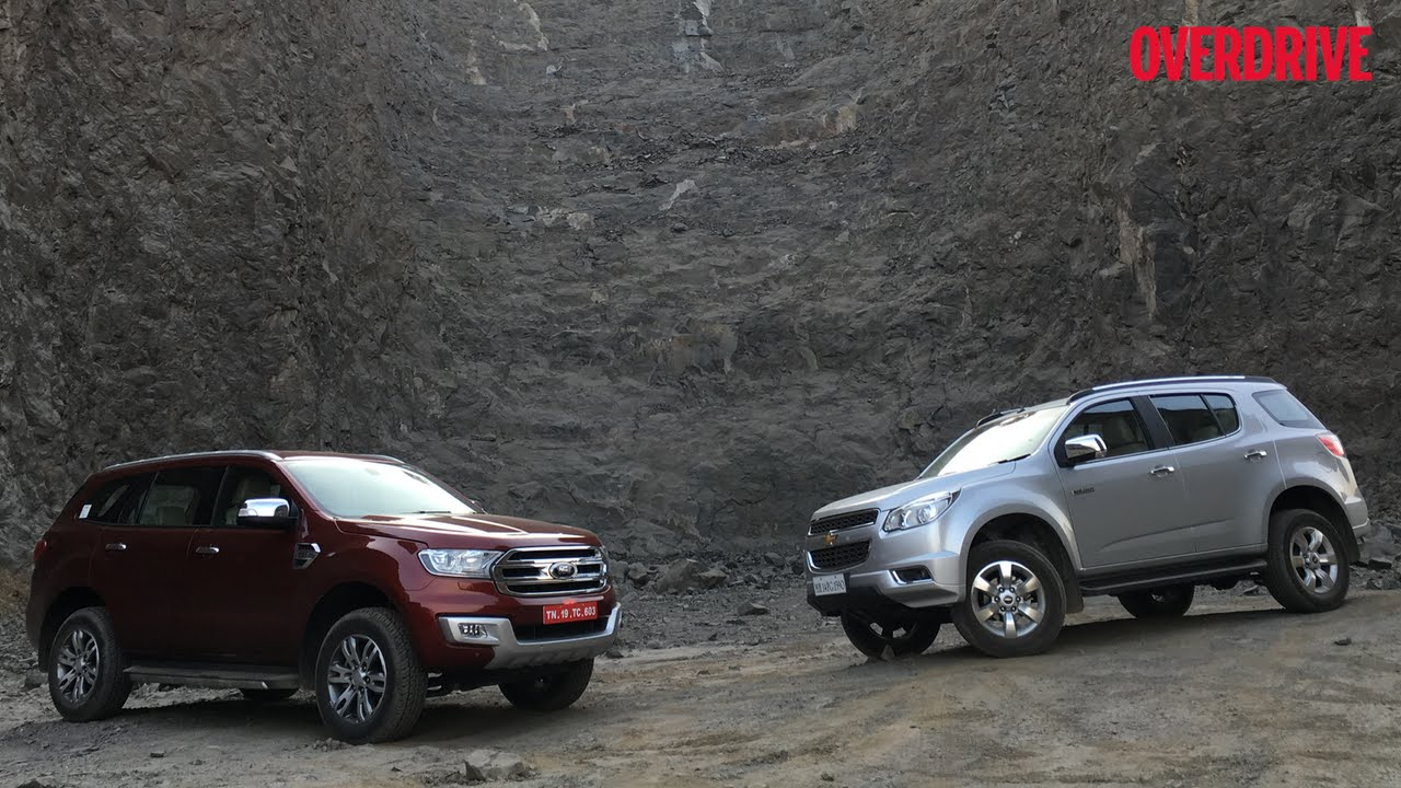 Ford Endeavour vs Chevrolet Trailblazer - Comparative Review