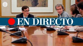 CORONAVIRUS ESPAÑA: Comparecencia de Salvador Illa y Fernando Simón