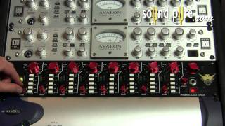 Phoenix DRS8 Mic Preamp Electric Guitar Demo