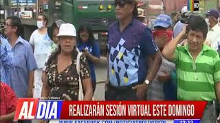 Coronavirus: Asamblea Legislativa de Santa Cruz sesionará este domingo de forma virtual