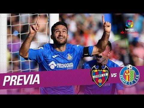Previa Levante UD vs Getafe CF